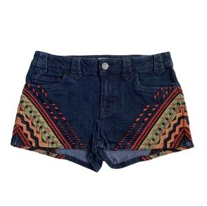 Urban Outfitters BDG Embroidered Jean Shorts